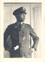 Dad B in Uniform Gazing