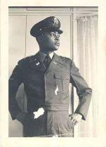 Dad B in Uniform Gazing
